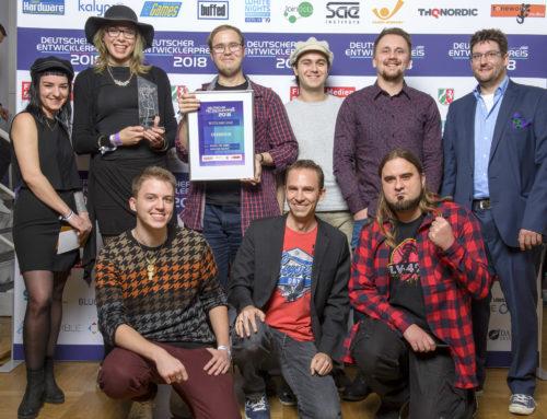 Deutscher Entwicklerpreis 2019: Einreichungsphase endet am 01. Oktober 2019 um 23.59 Uhr