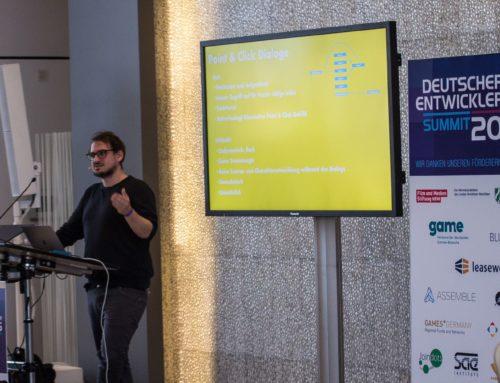 Deutscher Entwicklerpreis 2018 – das Programm des Summit 2018